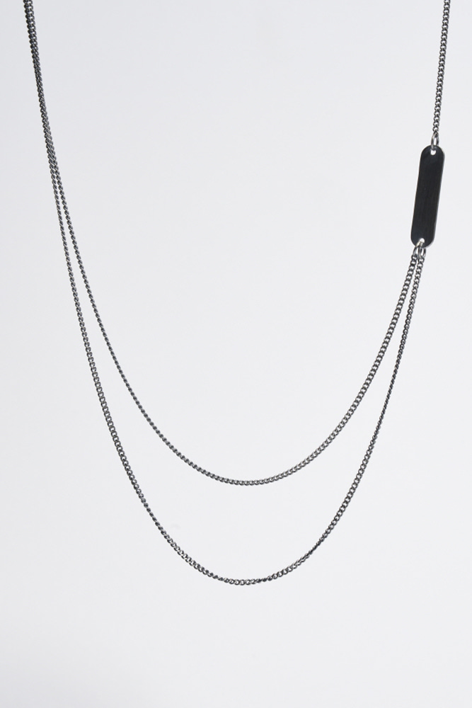 Black 2-Way Necklace